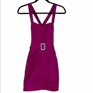 NWT Jessica McClintock   Pink Silk Party Dress